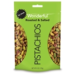 Shelled Roasted and Salted Pistachio - 6 oz.