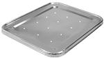 Half Size Steam Table Lid with Perforation and Full Curl