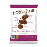 Double Chocolate Chip Mini Cookies Gluten Free - 0.95 Oz.