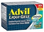 Advil Liquid Gels Minis 20 Count