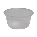 Plastic Clear Portion Cup - 3.25 oz.