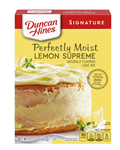 Duncan Hines Signature Lemon Supreme Cake Mix - 15.25 Oz.