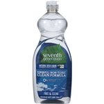 Seventh Generation Free and Clear Dishwashing - 25 Oz.