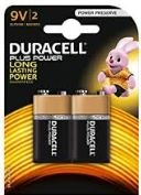 Duracell Alkaline Personal Power 9V Batteries