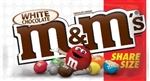 M and Ms White Chocolate Sharing Size - 2.47 Oz.
