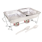 Sterno Full Size Buffet Kit - 3.3 Pound