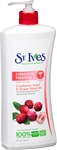 St. Ives Body Lotion Light Repairing Cranberry - 21 Oz.