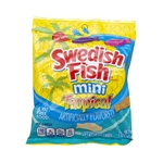 Swedish Fish Soft Candy Tropical Fat Free - 5 Oz.