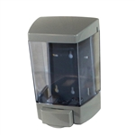 Clearvu Bulk Lotion Soap Dispensers Gray