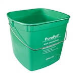 6 Quart Utility Pail Green Bucket