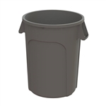 Value Plus Plastic Container Gray - 32 Gal.