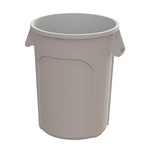 Value Plus Plastic Container White - 32 Gal.