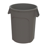 Value Plus Plastic Container Gray - 44 Gal.