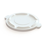 Value Plus White Waste Receptacle Lid - 20 Gal.