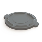 Value Plus Gray Container Lid - 32 Gal.