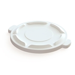 Value Plus White Container Lid - 32 Gal.