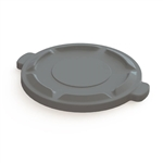 Value Plus Gray Container Lid - 44 Gal.