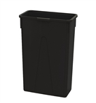 Slim Black Container - 23 Gal.
