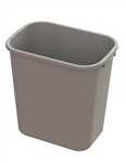 Beige Waste Container - 28 qt.