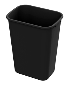 Black Waste Container - 41 qt.