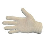 Pro-Guard String Knit Natural Large Cotton Poly Blend Gloves