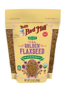 Bobs Red Mill Organic Golden Flaxseeds - 13 oz.