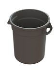 Plastic Value Plus Gray Container - 10 Gal.