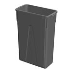 Value Plus Slim Container Gray - 23 Gal.