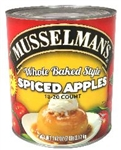 Musselmans Clean Label Whole Baked Style Spiced Apples - 112 Oz.
