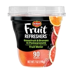 Fruit Refreshers Grapefruit And Oranges In Pomegranate Fruit Water