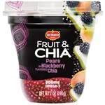 Fruit and Chia Peaches In Blackberry Flavored Chia - 7 oz.