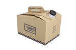 Noahs Beverage On The Move Bulk Beverage Carrier With Custom Printed Corrugated Shell - 96 Oz.