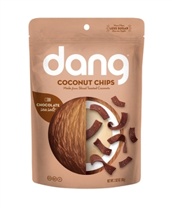 Sea Salt Chocolate Coconut Chips - 2.8 oz.