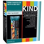 Nuts and Sea Salt Dark Chocolate - 1.4 Oz.