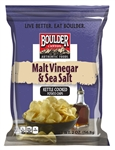 Boulder Canyon Sea Salt Cut Malt and Vinegar BBQ Jalapeno 48 count Shipper