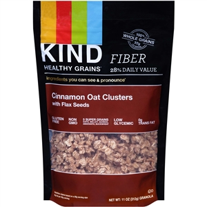 Cinnamon Oat Clusters With Flax Seeds - 11 Oz.