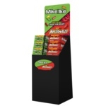 Mike and Ike 5oz Original and Hot Tamales Floor Stand Display