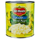Lite Diced Pears In Extra Light Syrup - 105 oz.