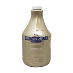 Vanilla Sauce Pump Bottle - 89.9 Oz.