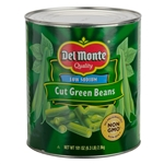 Cut Blue Lake Green Beans Delmonte - 101 Oz.