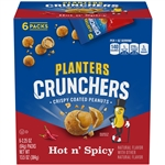 Peanut Hot and Spicy Crunchers - 2.25 Oz.