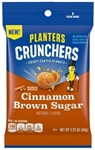 Planters Crunchers Snack Nuts Cinnamon Brown Sugar - 2.25 oz.