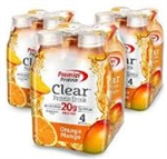 Premier Protein Clear Protein Drink Orange Mango - 16.9 Oz.