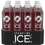 Sparkling Ice Grape Raspberry, with Antioxidants and Vitamins, Zero Sugar - 17 oz.