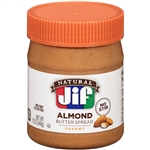 Jif Natural Creamy Almond Spread - 12 Oz.
