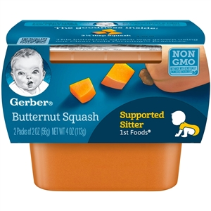 1st Foods Butternut Squash Multi Pack - 4 Oz.