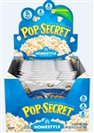 Pop Secret Homestyle Microwave Popcorn Display Microwave - 3.2 Oz.