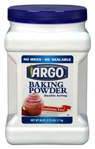 Argo Baking Powder - 60 oz.