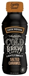 Java House Authentic Salted Caramel Lightly Sweet Cold Brew - 10 oz.
