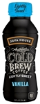 Java House Authentic Vanilla Lightly Sweet Cold Brew - 10 Oz.
